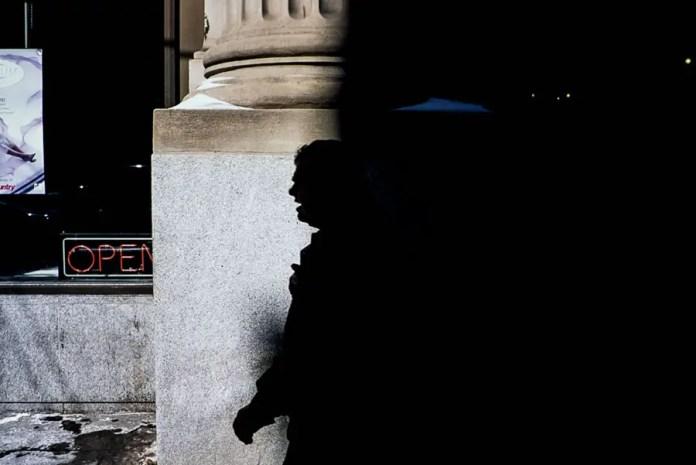 'Emerging' - Toronto, 2015 (Leica MP - Voigtlander 35 f/1.4 - Fuji Provia 100F)