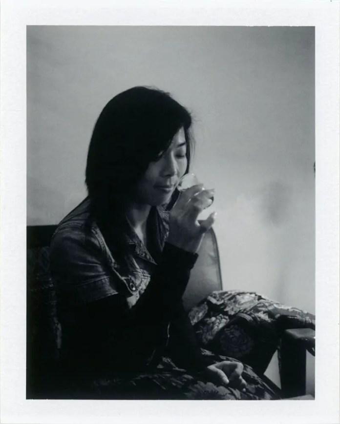 Cat - Polaroid 250 - Fuji FP3000B