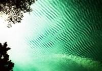 Emerald skyscape - Kodak EKTACHROME 100D (5285). ISO100, cross processed.