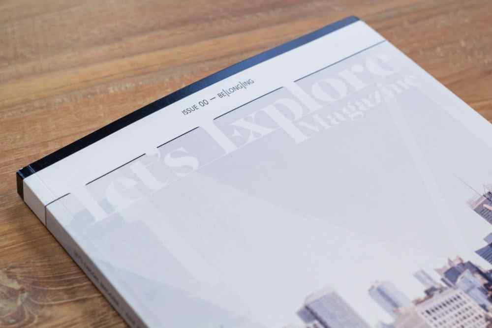 Let's Explore Magazine - issue 00 pre-production