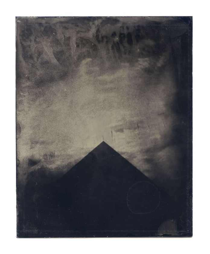 """""""Untitled"""" from NEVERMORE (2014) // Tintype // 4""""x5"""""""