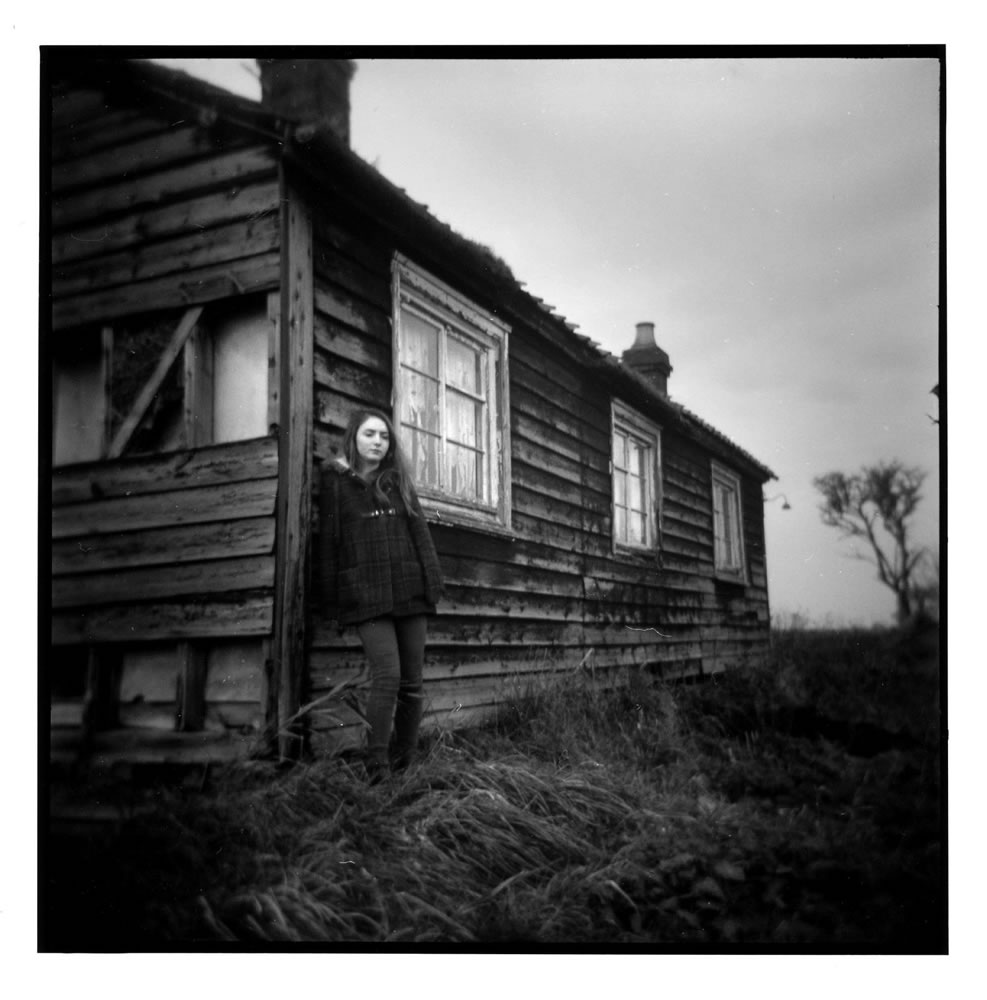 By the Fenland House - February 2015 - a darkroom print on Ilford MGRC paper from a HP5 negative shot using a Holga and is a location that continues to draw me back with a variety of cameras and film – it lies in the heart of the Cambridgeshire Fenlands, my back yard