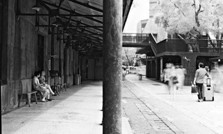 Waiting zone – Shot on Rollei Superpan 200 at EI 3 (120 format)