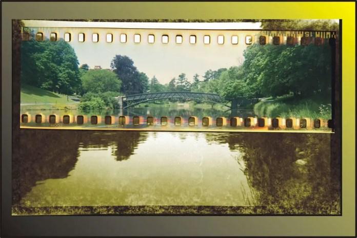 The AGFA Bridge Over Ansco Lake