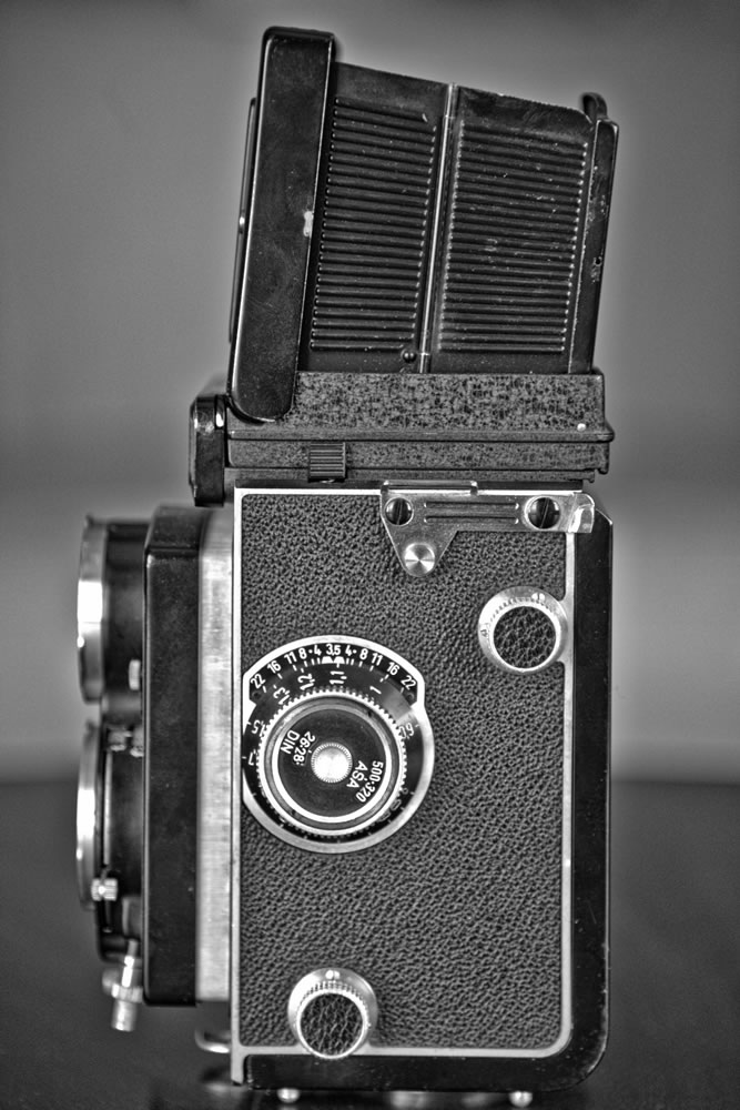 Rolleicord Vb Left