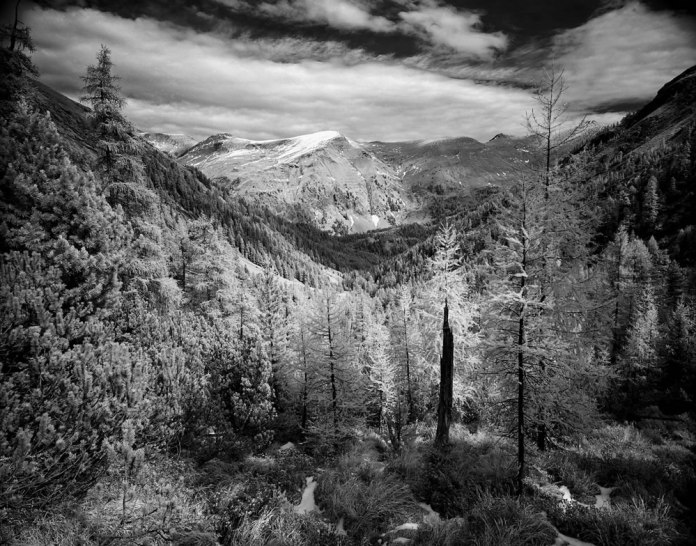 Austrian Landscape IR - Mamiya 7ii - Rollei Retro 80s