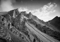 Monte Sella di Fanes - Mamiya 7ii - Ilford Delta 100 Professional