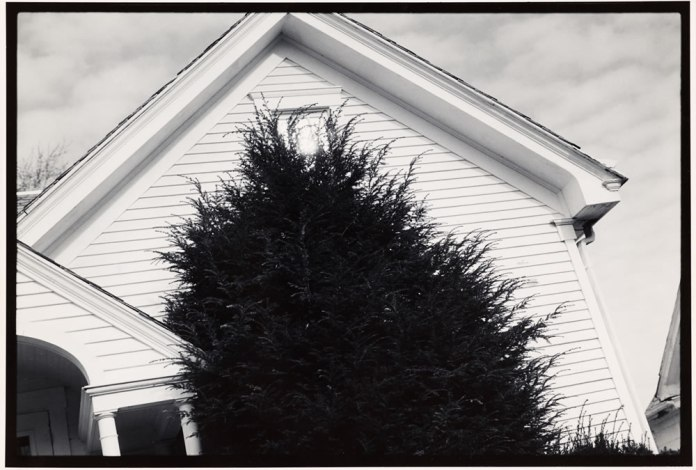 "35mm Ilford Pan F ( pre ""+"" ) in Rodinal 1:100. Printed on 11x14 Oriental Seagull. Athens, Ohio 1989, an image from my graduate thesis work"