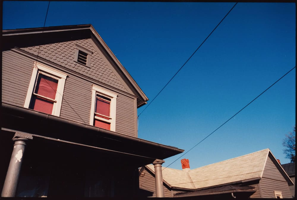 35mm Kodak Ektar 25. 11x14 C -print. Athens, Ohio 1989 I also worked some slow color into my thesis piece.
