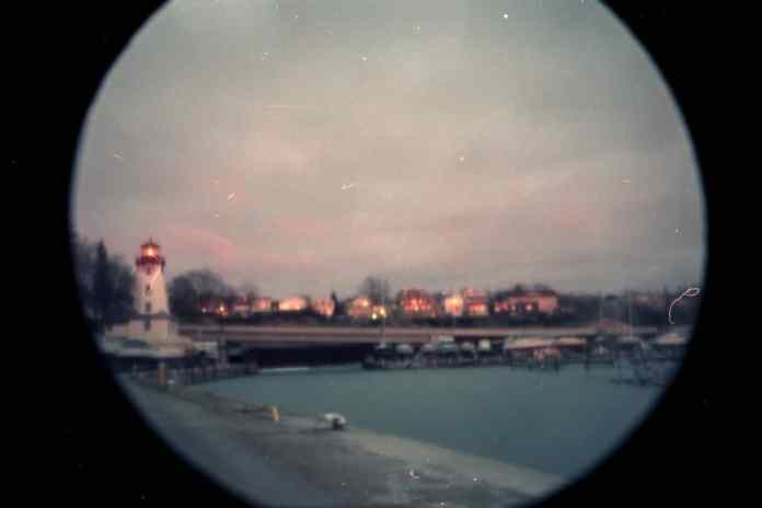 Kincardine Harbour and Lighthouse
