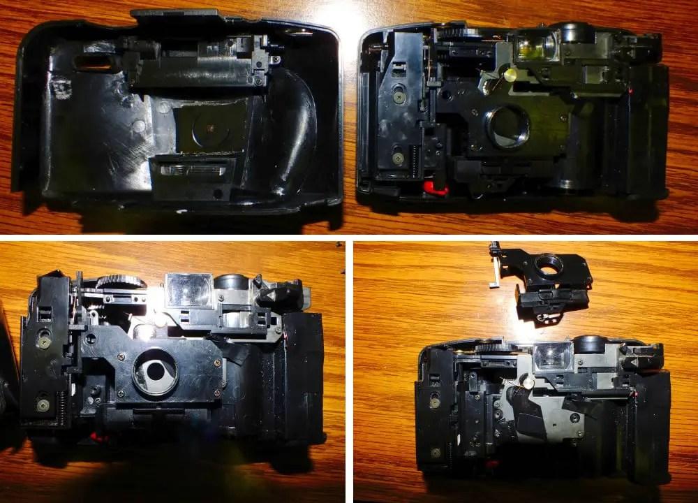 Kodak Star 435 Pinhole guts