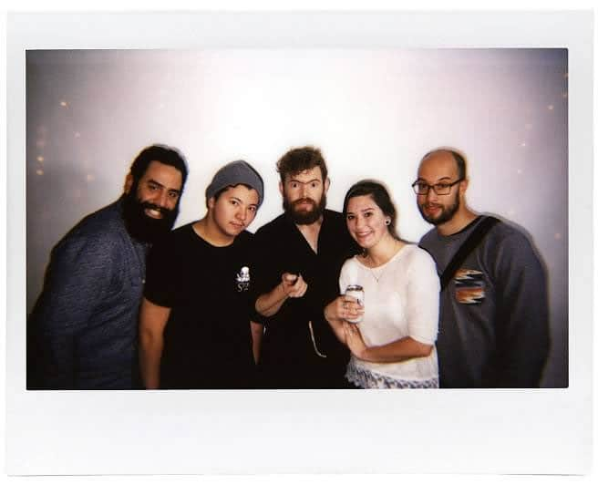 Frank, Devin, Juan, Katherine, Christian @ Lomo'Instant Launch Party
