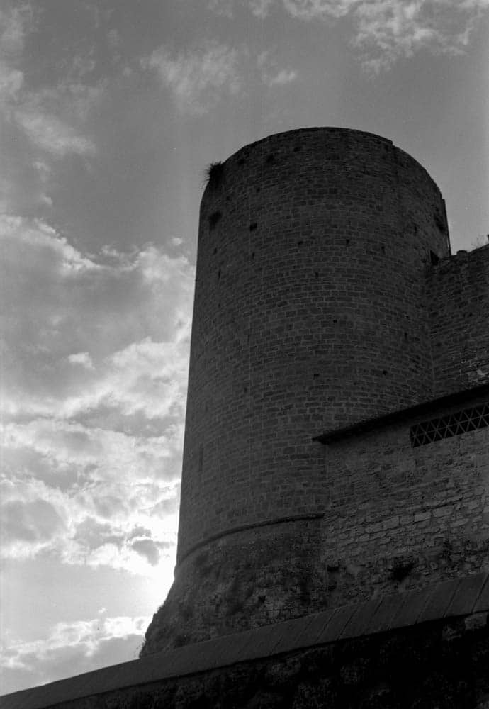 Ikonta 520 - The Castle (Il Castello) - Zeiss Ikon Ikonta 520:2 (Ikonta C) - Ilford HP5+