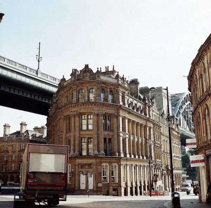 """Queen Street"" Newcastle, August 2015 - Hasselblad 500CM / 80mm Zeiss Planar / Lomography Colour Negative 400"