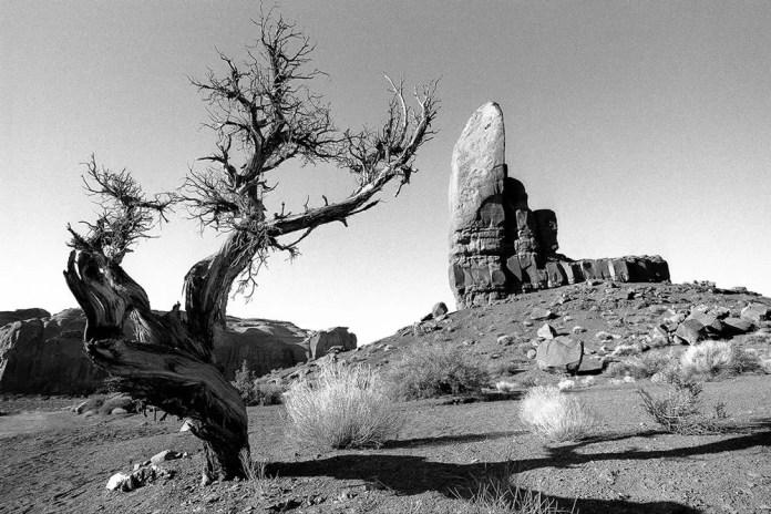 Monument Valley, UT - Nikon F5, Kodak T-MAX 100