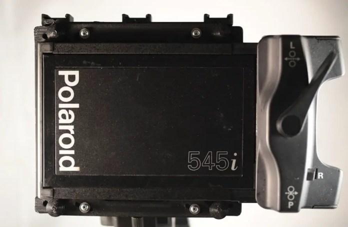 Mercury - Large Format with Polaroid 550i