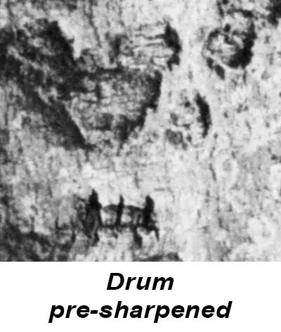 Drum scanner Dainippon pre sharpened
