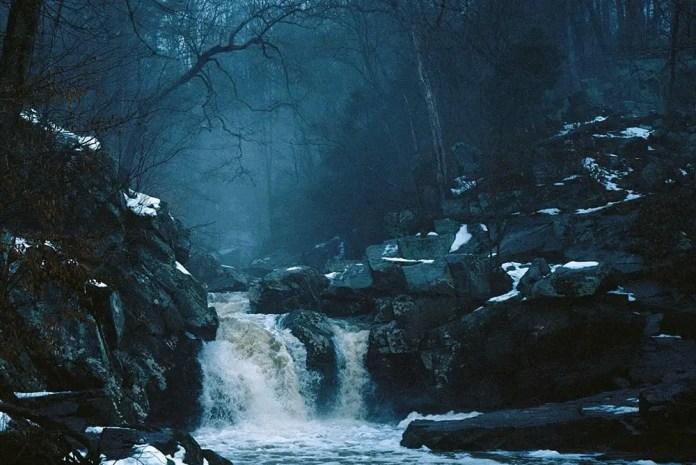 Fog and Falls, Nikon F3, Kodak Ektar 100