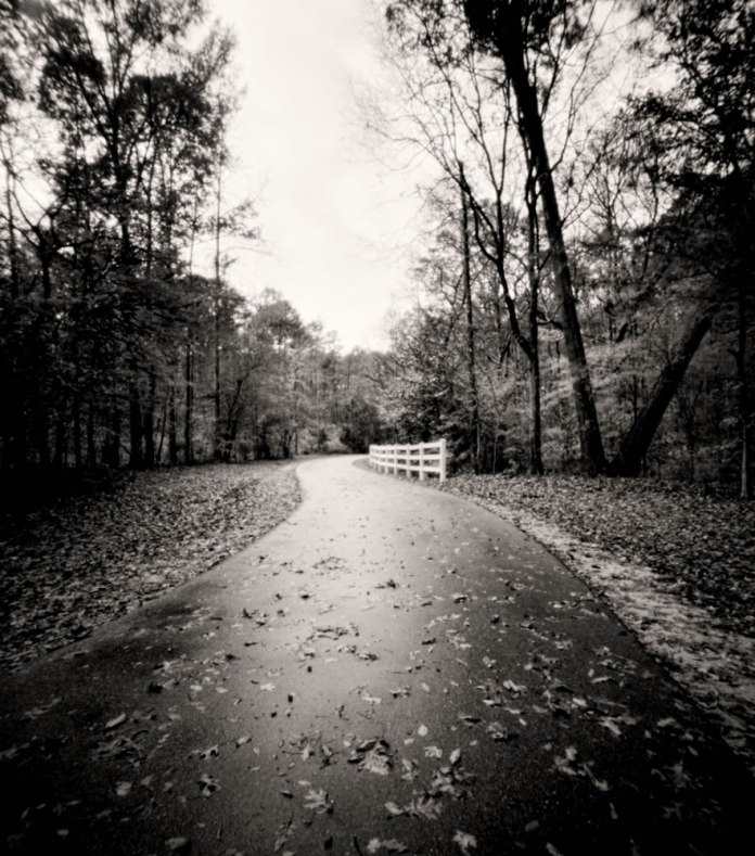 River trail path - 4x5 pinhole - Bobby Kulik