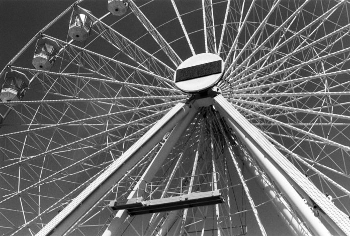 Ferris Wheel - Ilford Delta 400 Professional - Michelle Parr, Harman Technology Sales and Marketing