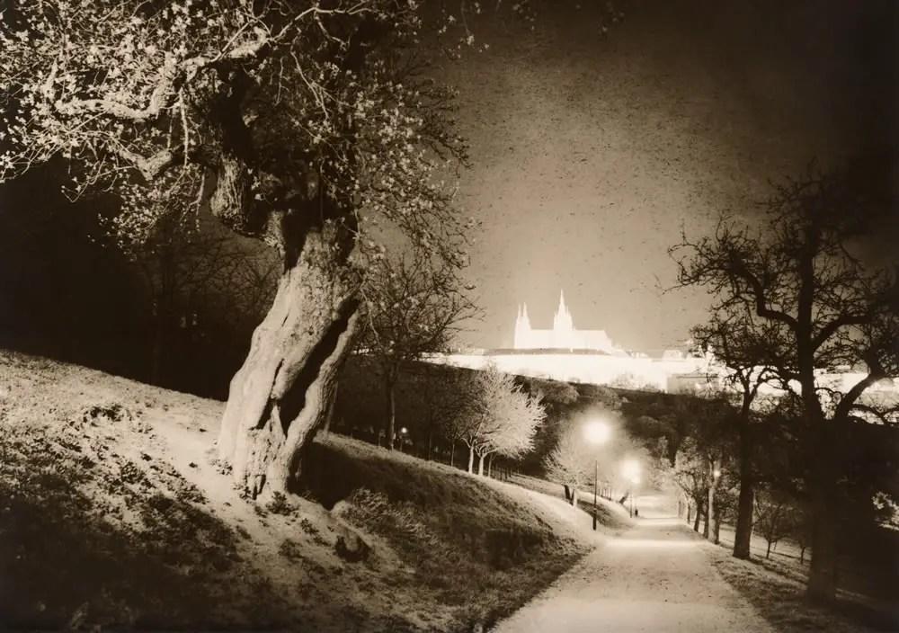 Magic Castle (darkroom print scan)