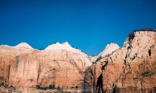 Zion NPS #01 – Shot on Kodak Vericolor 160 VPS 6006 (120 format)