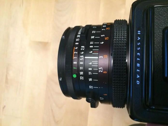 500CM - 80/2.8 CF lens