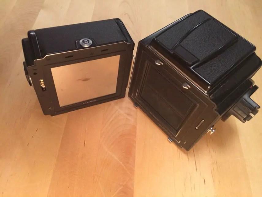 500CM - Film back and mounts