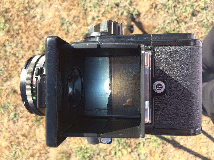 500CM - Viewfinder view