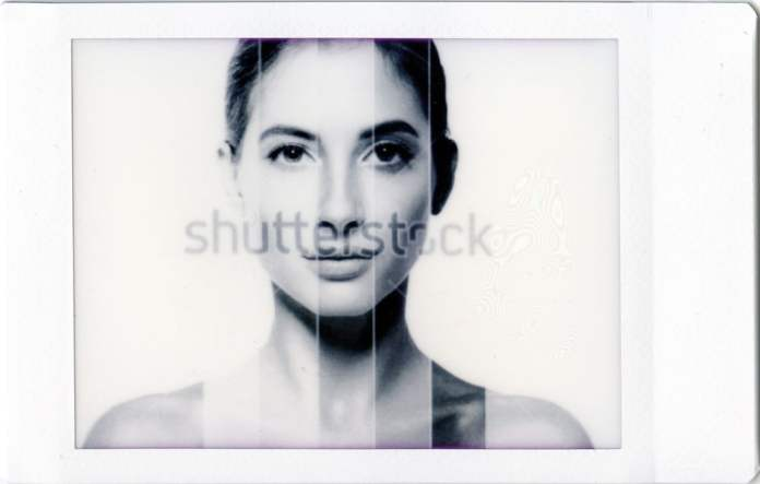 Instax Mini Monochrome - Skin Tone Test