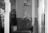 Self portrait with Leica, Ilford XP2 Super, Leica M6TTL, 2016