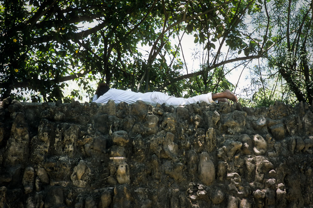 Man Sleeping, Kodak Ektar 100, Leica M6 TTL, 2013