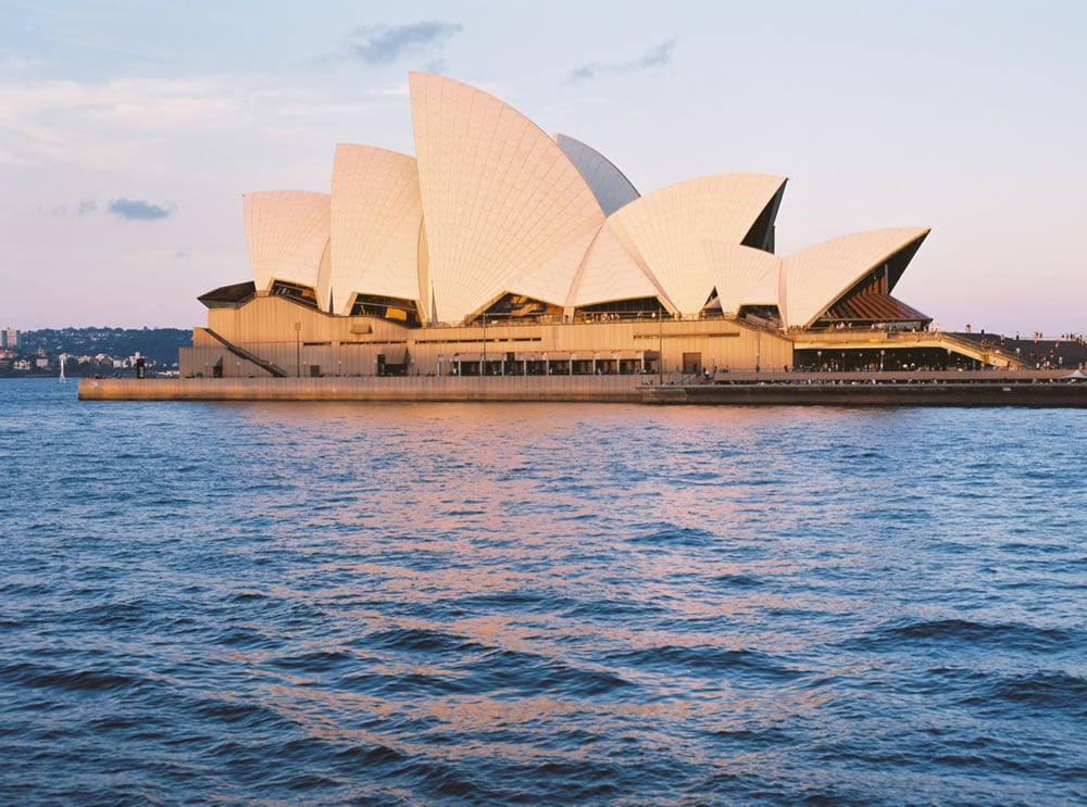 Sydney Opera House from ferry