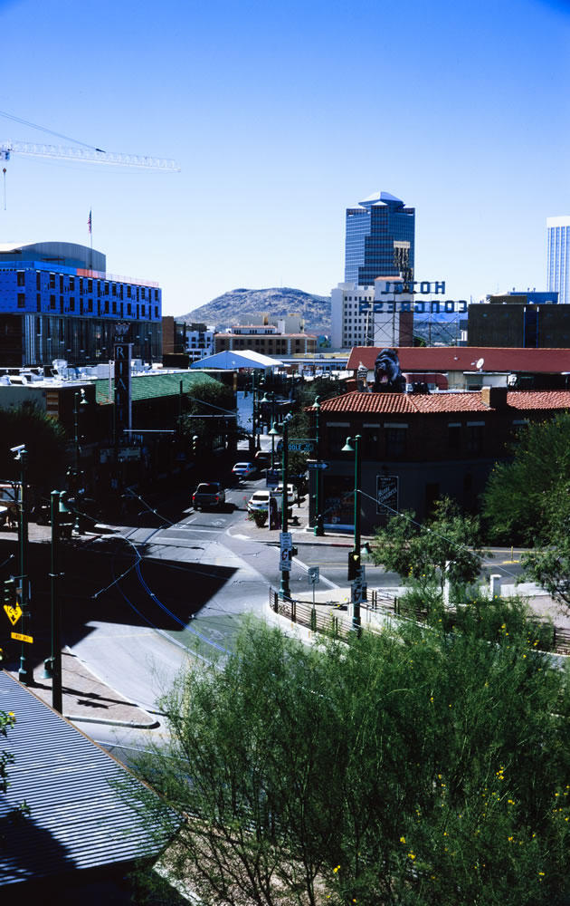 Downtown Tucson, Canon P, 35mm 2.8, Kodak Ektachrome 100 (EPN), Expired 03/2003