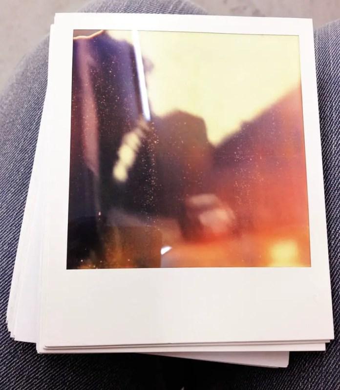 Paradise Row - Polaroid SX70 Land Camera Alpha - Bethnal Green London