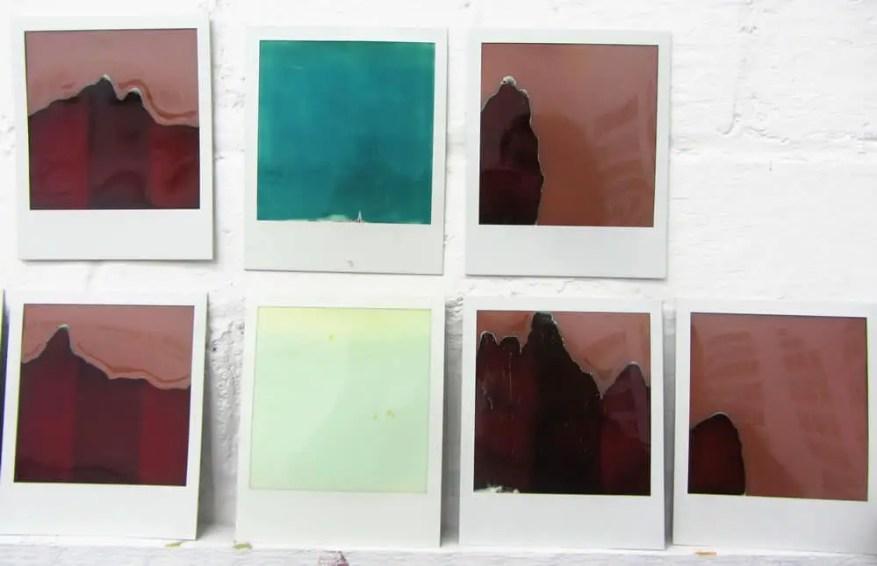 Raw Polaroids - Some bad photos. Polaroid SX70 Land Camera Alpha. Impossible Color instant film