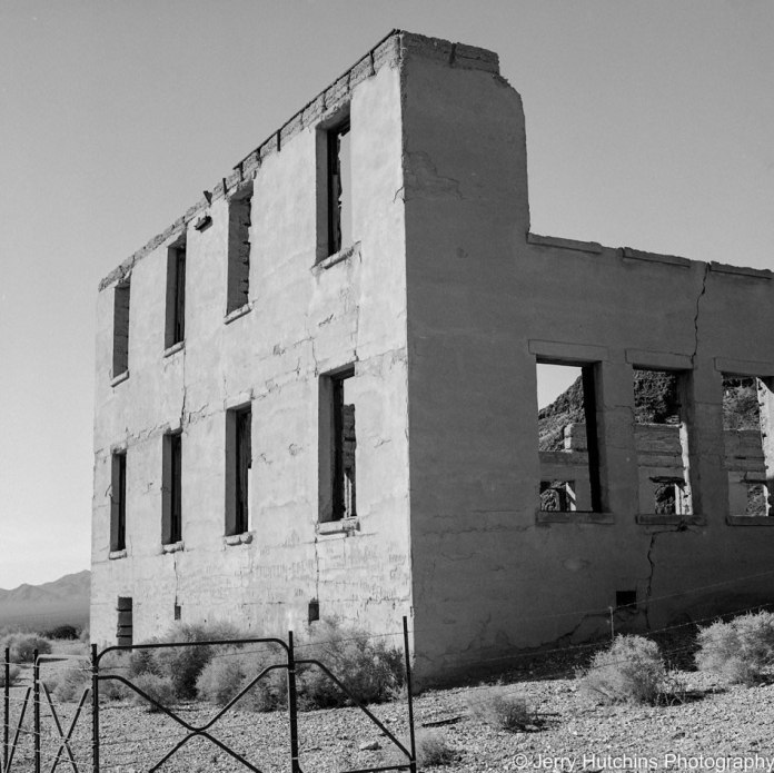 The PhotoJeeper - @PhotoJeeper - I think I am late to the #FP4Party oh well better late than never. Rhyolite, NV - Hasselblad w/80mm