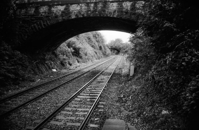 Ashley B Williams - ‏@Grumpyfck - Penultimate @FP4Party post. Devonport Dockyard station From both ends. #FP4Party #believeinfilm #52cameras52weeks