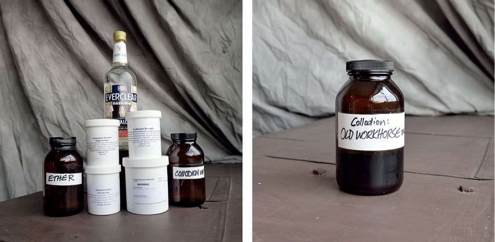 Step 1: Prepare your collodion mixture