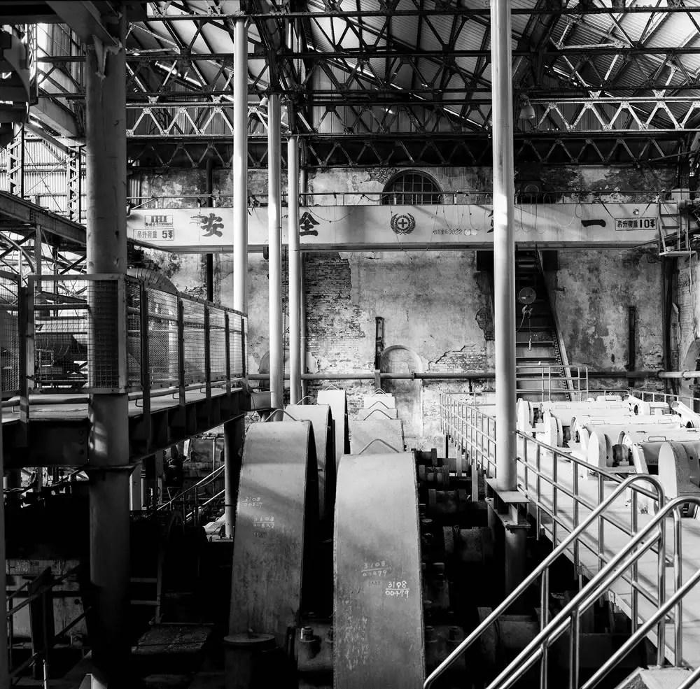 Boiler room - Fuji Acros 100 shot at EI 100. Black and white film in 120 format shot as 6x6.