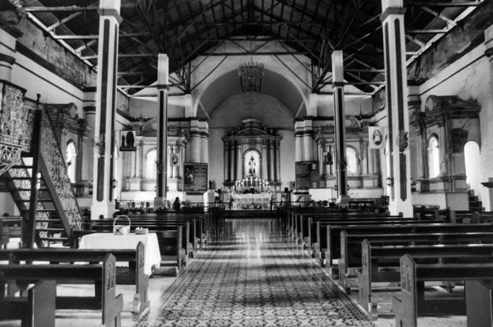 Take Me To Church (Paoay, Ilocos Norte, PH) - Canon FTQL - Canon FD 28mm F/2
