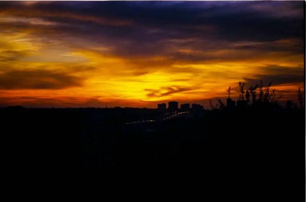 Dallas Sunset - Kodak Ektar 100 - Canon EOS3