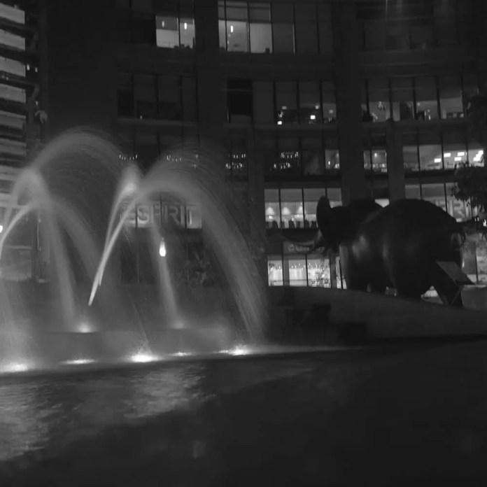 """Columbus Circle"" - (NYC 2014) Yashica-Mat with Yashinon 80mm f/3.5 lens and Ilford Delta 3200 120 film"