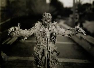 Paper negatives part 3 - Zombie Mummy