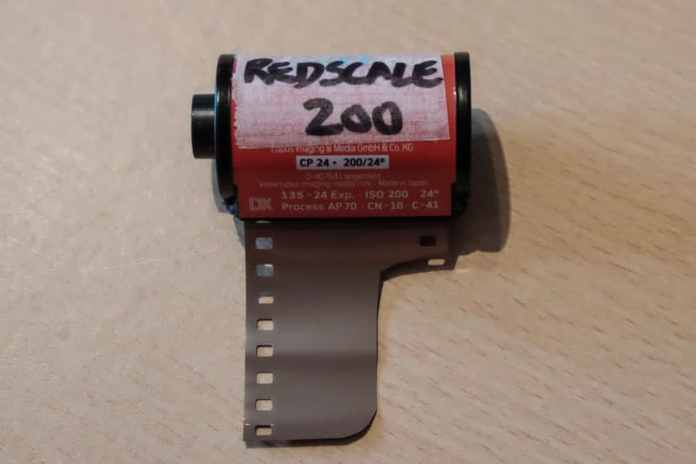 Redscaling film tutorial - Step 4