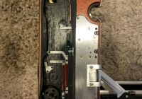 Speed Graphic - Shutter mechanism and curtains removed
