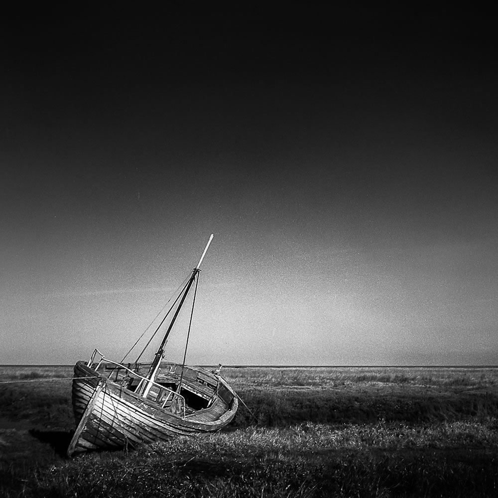 """Thornham"", Yashica Mat-124G, Ilford FP4, Self-developed in Ilfosol 3 (1+9, 4:15)"