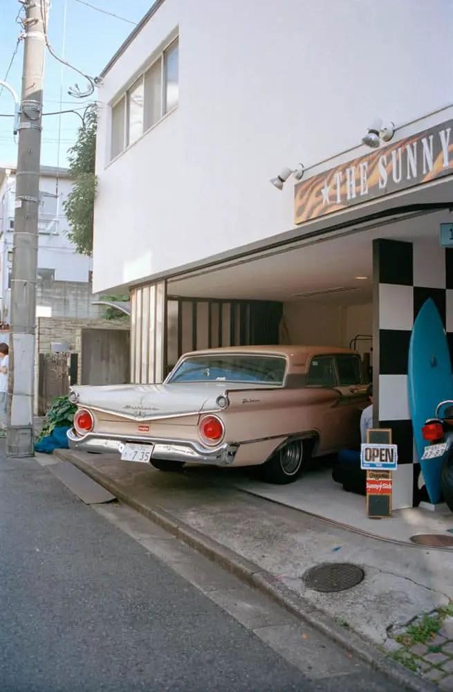 Sunny Sider - Kodak Portra 400, Olympus OM40, Japan