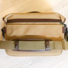 Billingham Hadley One - Rear, with shoulder strap