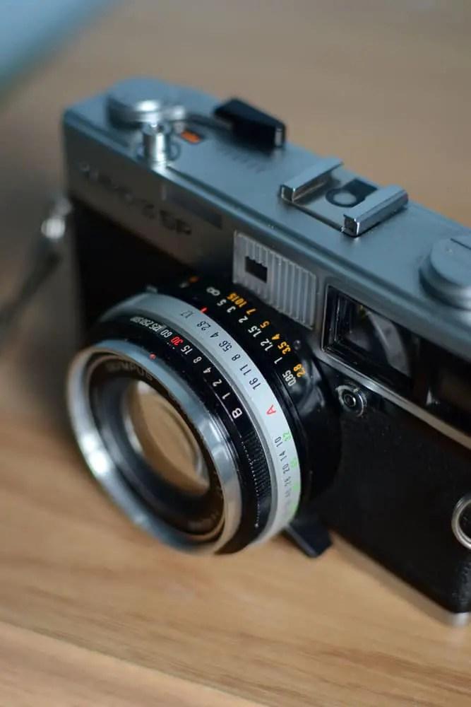 Olympus 35 SP - Lens rings